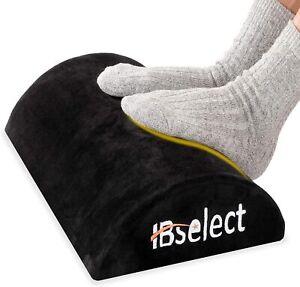 Füßauflage Fußkissen Fußstütze aus druckausgleichendem Memory Foam und Flannell