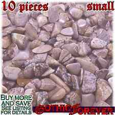 10 Small 10mm Combo Ship Tumbled Gem Stone Crystal Natural - Jasper Picture