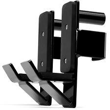 "J Hooks Barbell Holder Attachments Fit 2x2"", 2x3"", 3x3"" Square Tube Power Racks"