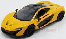Mclaren P1 2013 Yellow Met MotorMax 1:24 MTM79325Y