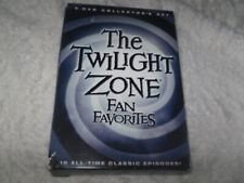 TWILIGHT ZONE: FAN FAVORITES DVD 5-Disc Set ALL DVDS & CASES IN EXCEL. COND.