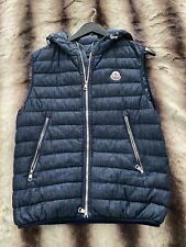 moncler sleeveless jacket size 1