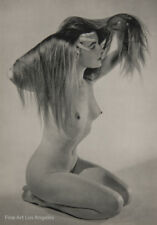 Zoltan Glass Photo, Nude, 1950s  Sheet Fed Gravure