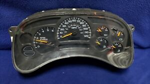 2003-06 GM Full Size Truck & SUV Instrument Gauge Cluster 15114649 UNTESTED