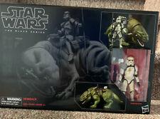 "Star Wars The Black Series #04 SANDTROOPER w/ DEWBACK 6"" Action Figure Set"