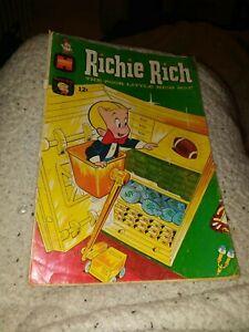 Richie Rich #70 Harvey Comics 1968 silver age little dot cartoon poor little boy