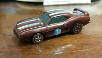 HOT WHEELS MATTEL 1969 MEXICO SIZZLERS FIREBIRD REDLINE RAR VERY GOOD VINTAGE