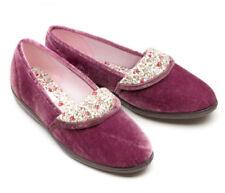 New Freestep Heather Ladies Floral Slippers Women's Low-Top Mavis Sizes UK 3-8
