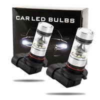 2x 9005 HB3 9145 H10 8000K 100W LED Projecteur Brouillard Ampoule Voiture