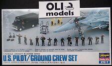 1/72 U.S. Pilot / Ground Crew Set - Hasegawa X72-7 / 35007