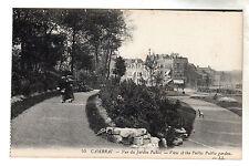 Public Garden - Cambrai Photo Postcard c1905 / LL