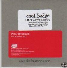 (417U) Peter Broderick, Not At Home - DJ CD