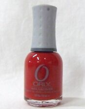 ORLY Nail Polish Color DOWN RIGHT RED 40615 .6oz/18ml