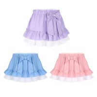 Womens Lady Men Tennis Short Skirt High Waist Pleated Skater Flared Mini Skirts
