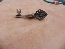 Clip signed War Taxco Mexico Sterling Silver .925 Key Tie
