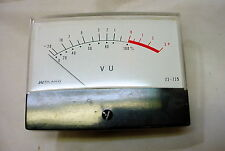 Midland Analog VU Panel Meter with lights