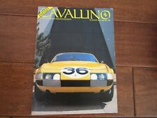 VINTAGE CAVALLINO FERRARI MAGAZINE NUMBER 33 June 1986 Daytona 365 GTB4 Cover