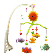 Baby Crib Mobile Bed Bell Hanging Toy Hanging Arm Bracket Decoration Music Box U
