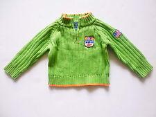River Woods Kinder Pullover, Grün Baumwolle Luxus Pullover Große; 6M ( 3- 6 M )