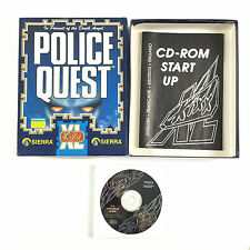 Jeu Police Quest In Pursuit of The Death Angel Sur PC Big Box / Boite Carton