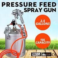Air Peinture Pression Pot Pistolet de Pulverisation 250l/min Pistolet à Peinture