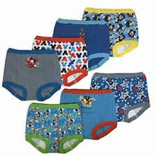 New listing Mickey Mouse toddler boy 3-pack or 7-pack, 7pk Potty Training Pant, Size 0.0 jec