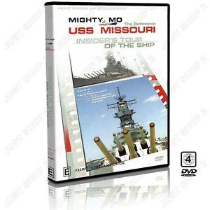 USS Missouri - Insider's Tour Of The Mighty Battleship : Documentary : Brand New