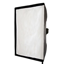 EssentialPhoto Bowens S Fit 60 X 90 Cm Studio Rectangular Softbox Metal Speedring