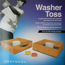 Protocol Backyard Outdoor Washer Toss Game