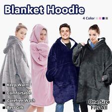 Hoodie Blanket Reversible Oversized Ultra Plush Sherpa Giant Hooded Sweatshirt01