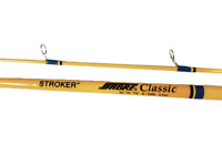 """Sabre Pro Stroker Classic Freshwater Spinning 7'6"""" 2 Piece Fishing Rod SC75"""