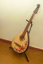 TREMBITA acoustic 6 string Lute guitar steel or nylon, Kobza Petrykivka BN VIDEO