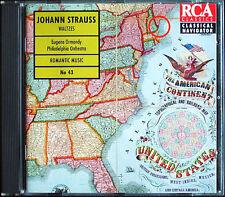Eugene ORMANDY: JOHANN STRAUSS An der schönen blauen Donau Wiener Blut CD
