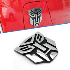 3D Transformers Autobot Emblem Logo Sticker Badge Car SUV Body Tank Cover Fender