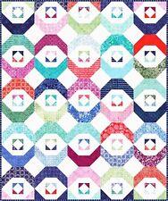 LATITUDE Quilt Kit - Moda Batik Fabric by Kate Spain / Large Blocks Easy Piecing