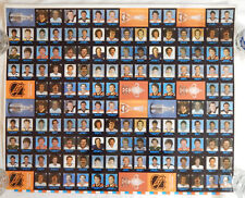 1985 86 7 ELEVEN 3 YZERMAN 3 MARIO LEMIEUX RC ROOKIE HOCKEY PENGUINS UNCUT SHEET