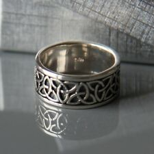 Sterling silver Celtic Ring (Size: 7,US - O,UK) by Lepos Jewellery
