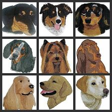 Custom Dog Faces Embroidered Iron On Patches