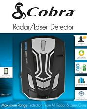 🔥 COBRA Radar Detector w/ LED Icons / Voice / In-Vehicle Technology Filter