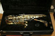 Bundy Saxophon - Gold Ohne Mundstück mit - S Bogen mit - Koffer