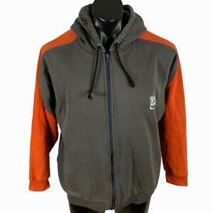 Men's Vintage AIRWALK hoodie size L full zip L/S draw string hood made in Fiji