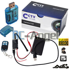 Mini DV Full HD 1080P Spy DIY Module Camera Remote Monitor Nanny Hidden Cam DVR