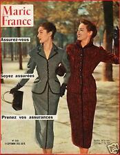 ▬►Marie France 458 de 1953 JEAN CLAUDE PASCAL_ETCHIKA CHOUREAU_PRINCESS MARGARET