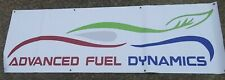 Advanced Fuel Dynamics Flex Fuel Vinyl Banner Drag Racing Garage Display