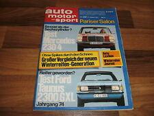 auto motor sport 27.10.1973 -- TEST:  LOTUS ELAN + 2 S 130 / Geburtstag-Geschenk
