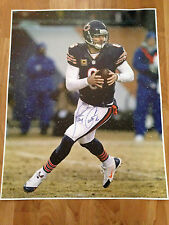 JAY CUTLER 'CHICAGO BEARS' 2014 NFL QUARTER BACK SIGNED 16X20 PICTURE *COA 1