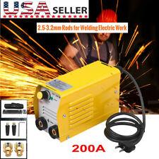 110v 200amp Mini Igbt Arc Welding Machine Inverter Dc Mma Electric Welder Stick