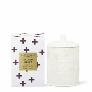Glasshouse Fragrances 380g Sacred Heart Candle