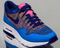 Nike WMNS Air Max 1 Ultra Flyknit women lifestyle sneakers NEW photo blue