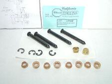 1967 1968 1969 Camaro, 1967-1978 Nova Door Hinge Repair Kit & Insructions